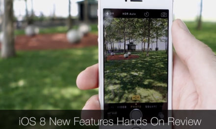 iOS 8 Hands On Review – New Camera Features