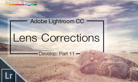 Lightroom Lens Corrections Video Tutorial