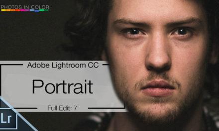 Lightroom Full Edit #4 – Portrait