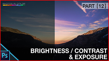 Photoshop Brighten a Picture – Brightness  Contrast and Exposure Tutorial