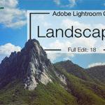 Lightroom Landscape Editing – PIC Community Edit – Lightroom CC