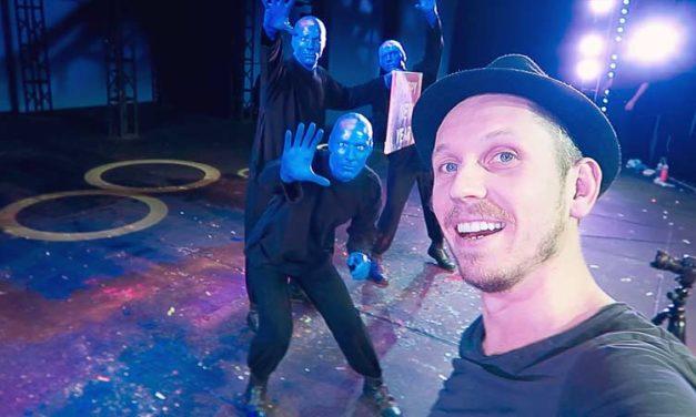 I filmed a BLUE MAN GROUP Commercial – Full BTS Access