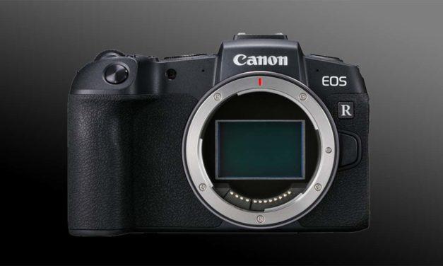 Canon EOS RP Mirrorless Camera Announcement